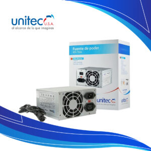 Fuente de Poder Unitec ATX-750W