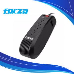 Regulador de Voltaje Automático Forza FVR-1001 | Multitoma Regulador de voltaje para pc