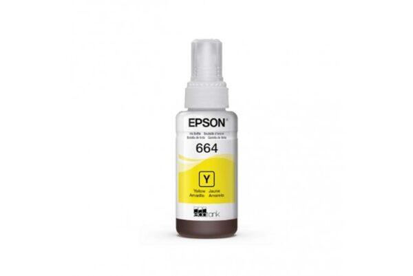 Tinta Epson 664 Amarillo | Tinta Para Impresora Epson al costo | tinta de impresora EPSON