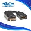 Adaptador Displayport a HDMI Tripp Lite P136-000 | Cables de Audio y Video para computador PC y portatil