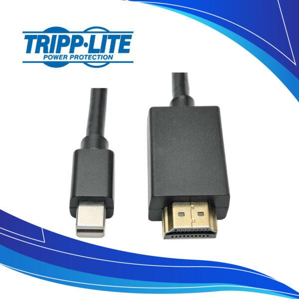 Adaptador Mini Displayport a HDMI Macho Tripp Lite P568-006 | Cables de Audio y Video para computador PC y portatil