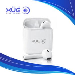 Audifonos Bluetooth 5.0 TWS Blanco Xue BT-E50   audifonos con microfono inalambricos   audifonos i12 tws   audifonos AIRPODS