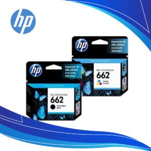Cartuchos de tinta HP 662 | tinta para impresora hp | cartuchos hp 662