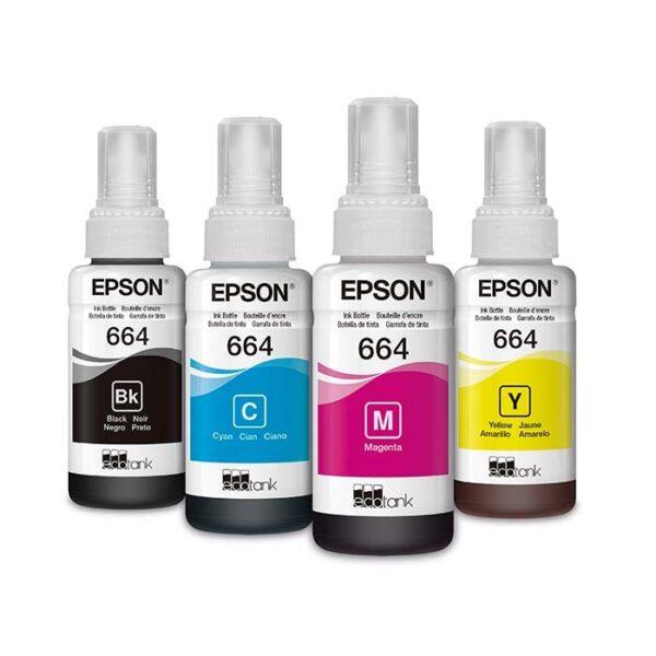 Botellas De Tinta Epson 664 | tinta epson 664 | Tinta Para Impresora Epson al costo
