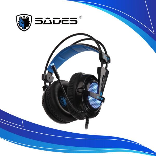 Audífonos Diadema Gamer Sades Locus Plus | audifonos gamer | diadema con micrófono