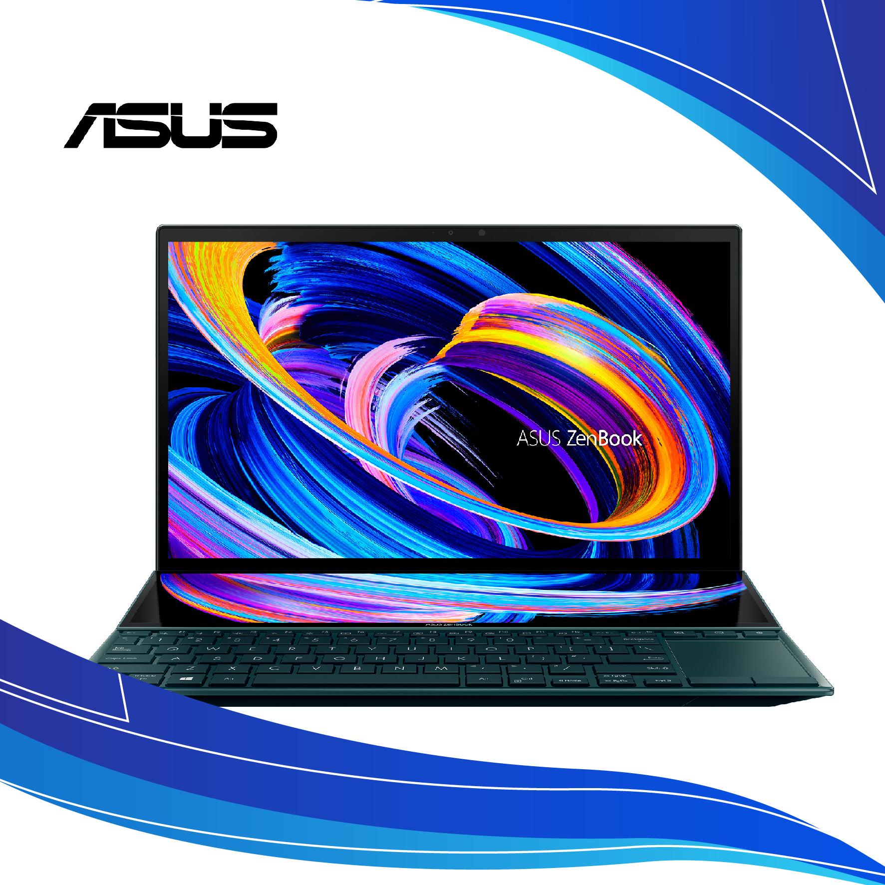 Portátil ASUS ZenBook Duo 14 UX482   Asus portatiles al costo   ASUS ZENBOOK 14