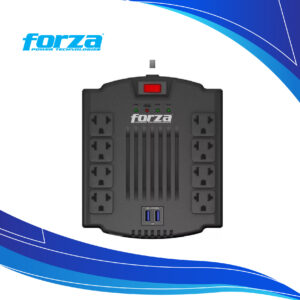 Regulador de voltaje Forza FVR-1211 | multitoma electrica